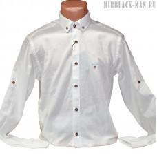 Рубашка белая GANT