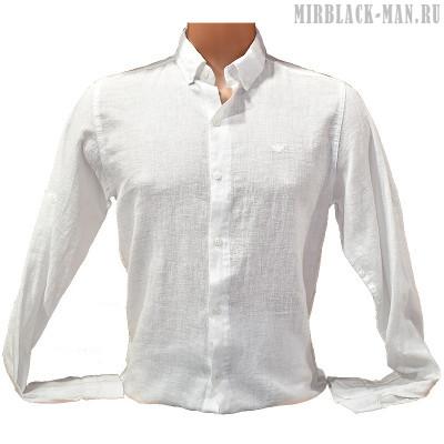 Рубашка белая ARMANI 023