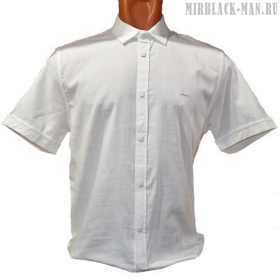 Рубашка белая BLACK STONE 027