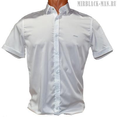 Рубашка белая BLACK STONE 3169