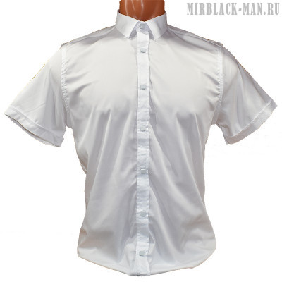 Рубашка белая AMATO 8145-3