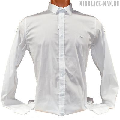 Рубашка белая BLACK STONE 049