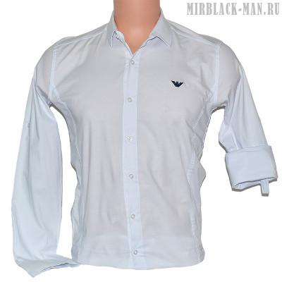 Рубашка белая ARMANI 001