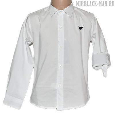Рубашка белая ARMANI 088