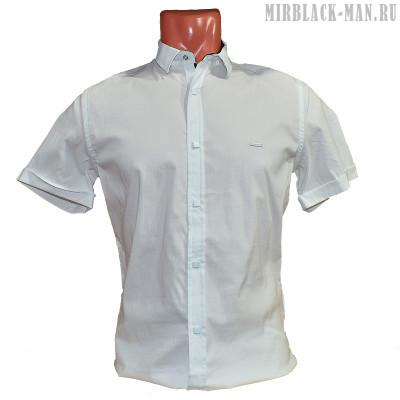 Рубашка белая BLACK STONE 2838-7
