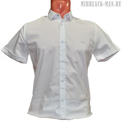 Рубашка белая BLACK STONE 3171-6