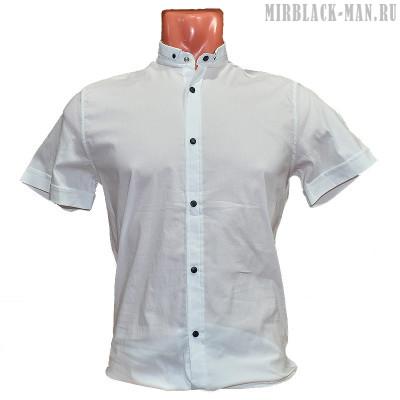 Рубашка белая BLACK STONE 3173