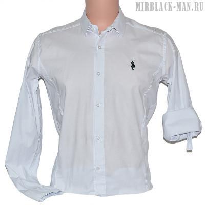 Рубашка белая POLO 001