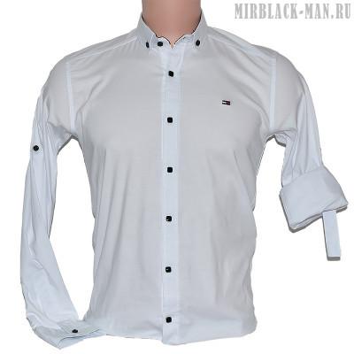 Рубашка белая TOMMY HILFIGER 01