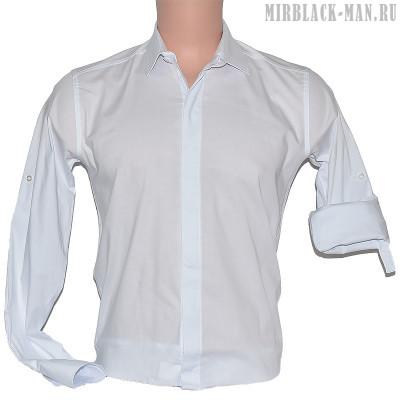 Рубашка белая ZERMANI 001