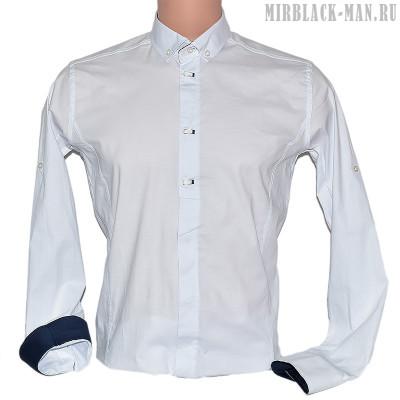 Рубашка белая ZERMANI 008